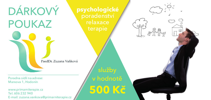 Grafický návrh poukázky | creativepeople.cz - Aleš Vaněk